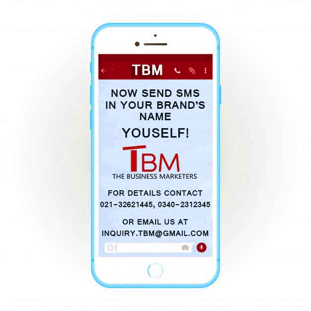 Sponsored content: Now Send Branded #SMS in your brand name yourself all over Pakistan. #Pakistan #SMSMarketing #BrandedSMS #Marketing #OnlineMarketing #TBM #TheBusinessMarketeers<br>http://pic.twitter.com/1h1rvyvEyz