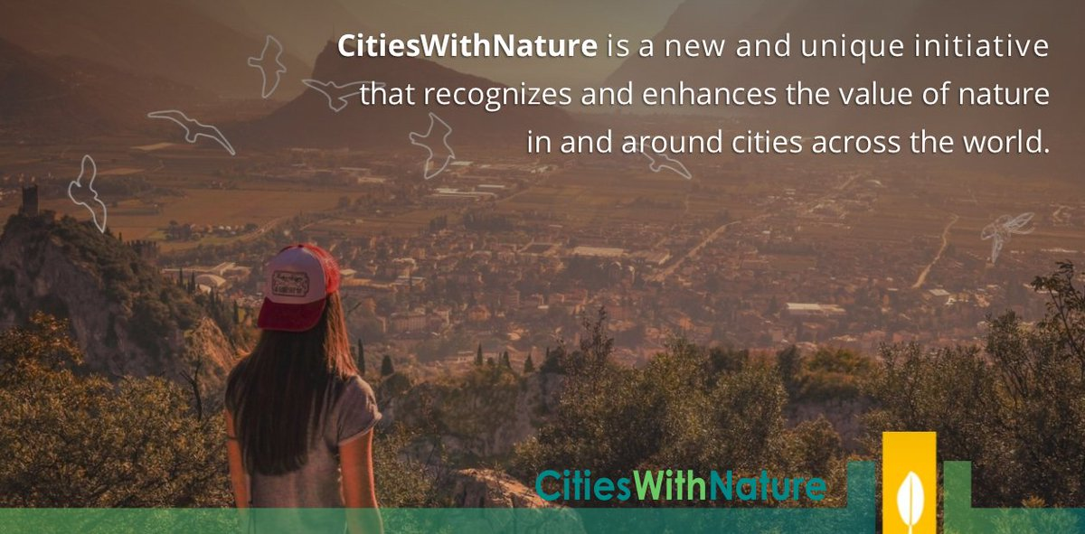 Now, more than ever, there is a need to unite & embrace #nature, reconnect communities with nature, to become #CitiesWithNature!   Follow @CitiesWNature  More info: https://t.co/ulOGAG1Hcz   All #cities, large and small, are invited to JOIN & benefit now: https://t.co/lIA91a1GZI