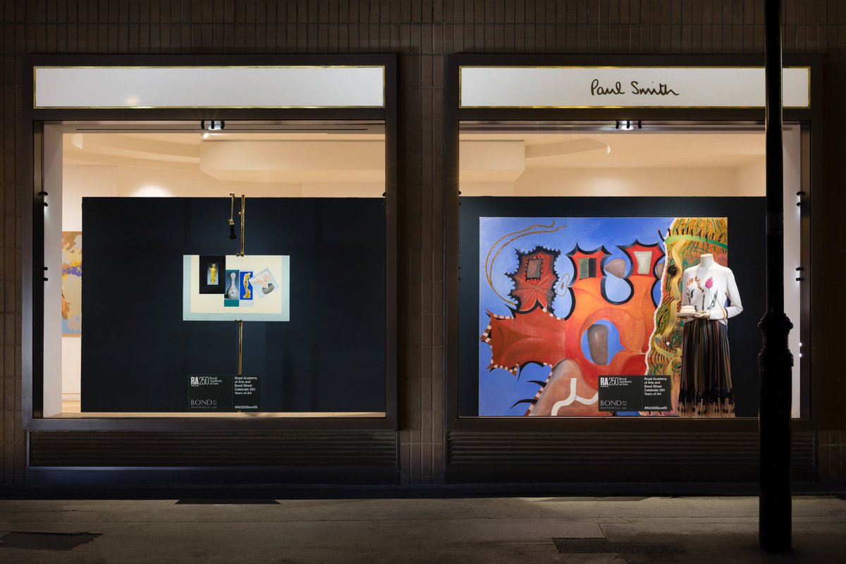 Paul Smith On Twitter Weve Celebrating The 250th RASummer With Some Special Windows At Our No 9 Albemarle Street Shop Tco BSI9cdq5Fd