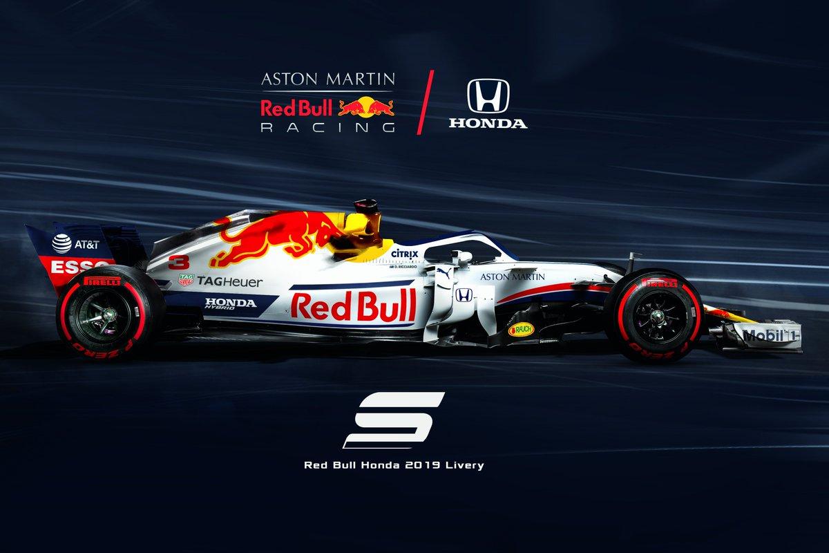 Sevigraphics On Twitter A Or B Aston Martin Red Bull Honda 2019 Livery Concept Redbull Honda Ricciardo Verstappen Hartley Gasly Pirelli F1 Formula1 F12019 Https T Co Dlbswg8rph