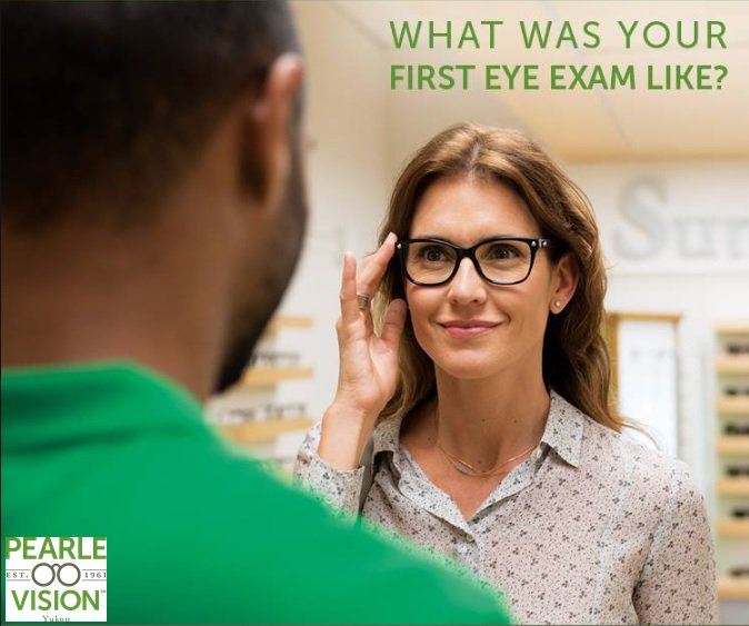 12fb1eaa28 ... visit to Pearle Vision  Share your experience in the comments section  below. - -  pearlevisionyukonok  eyeexams  firsteyeexam  eyecare  eyewear   glasses ...