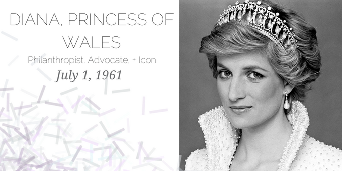 Happy Birthday to a lady who ruled: Princess Diana! She would have been 57 years old today.