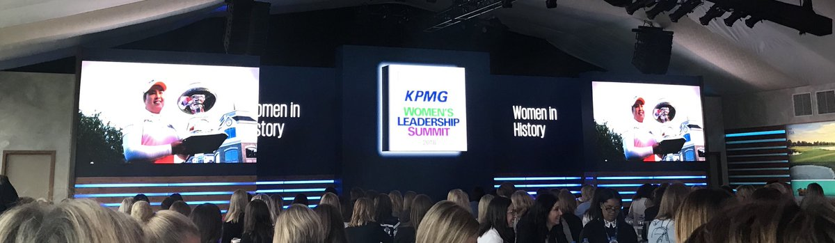 Thrilled to be attending the KPMG Women's Leadership Summit. #InspireGreatness @KemperLakesGC @KPMGWomensPGA