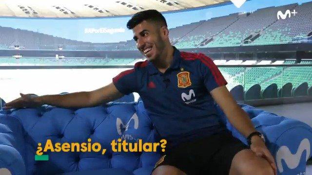 En el sofá con @marcoasensio10: Siendo egoísta, me pondría como titular. Cualquier jugador se pondría.