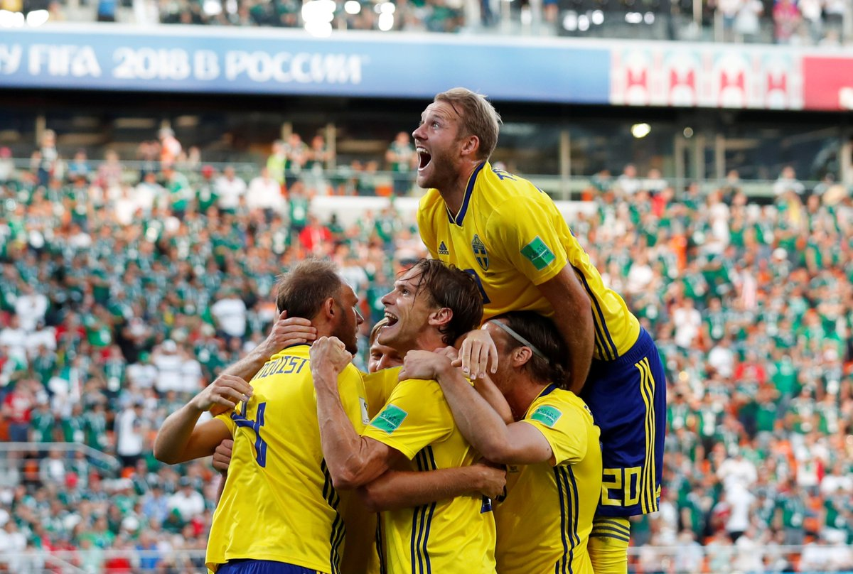 Mexico vs Sweden 0-3 Highlights and Goals