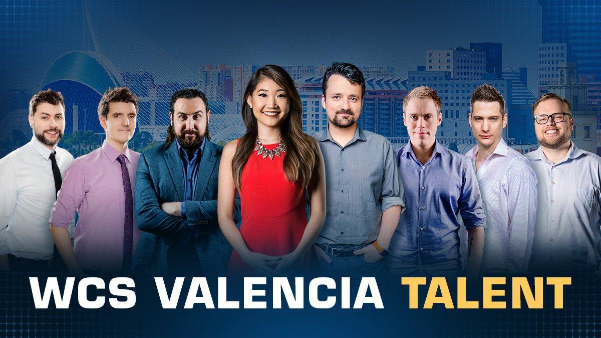 WCS Valencia 2018 staff