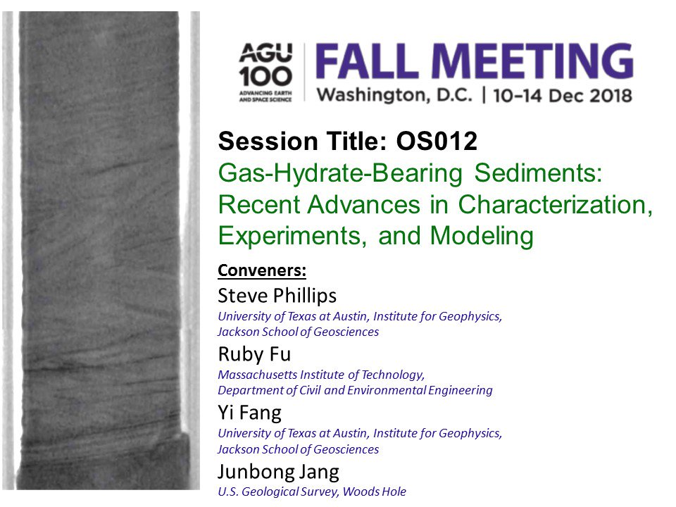 Only 2 more weeks until the #AGU18 abstract deadline!