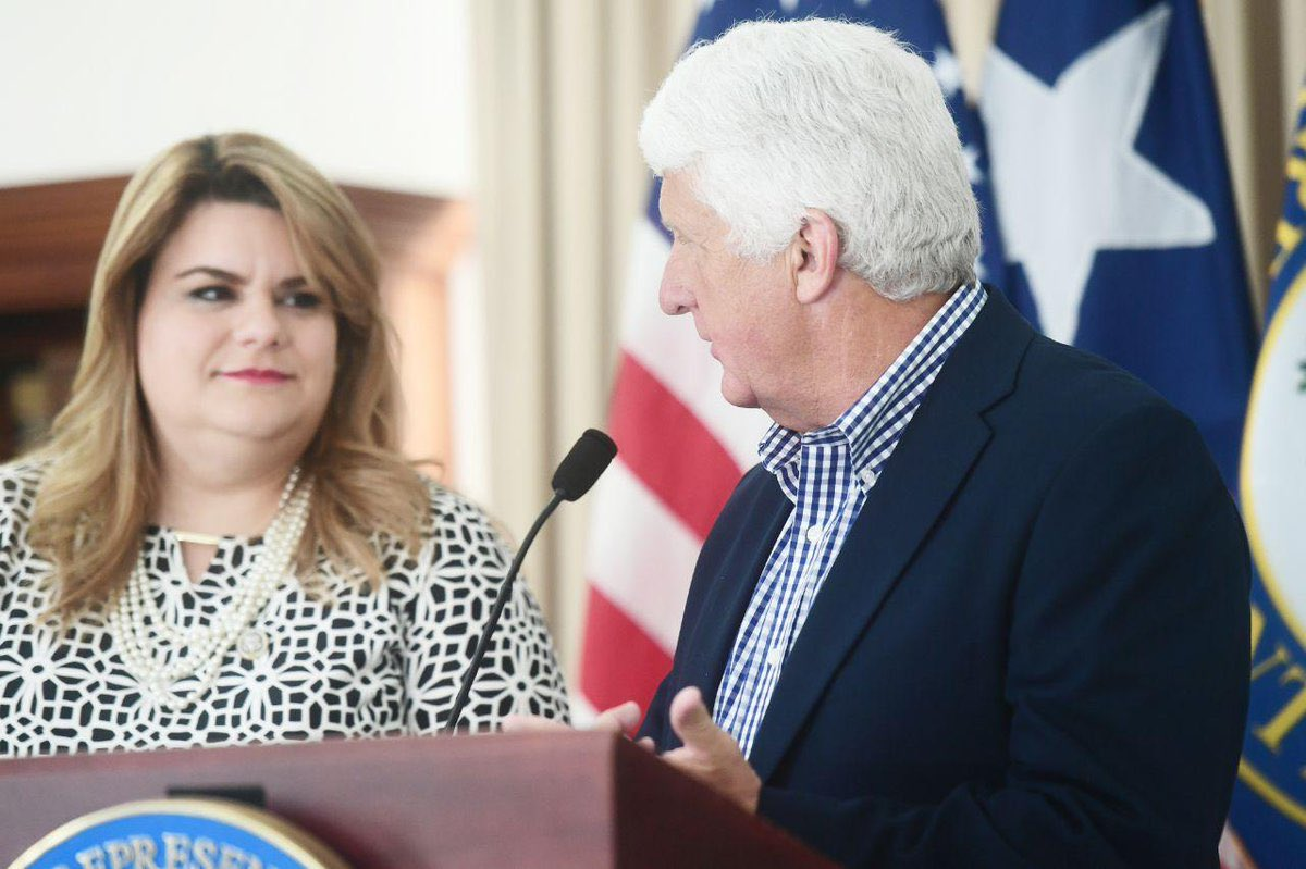 Chairman Bishop: I commend @RepJenniffer's introduction of the statehood bill, it continues the important conversation about the future of Puerto Rico, and I strongly support her in this endeavor. 🇵🇷