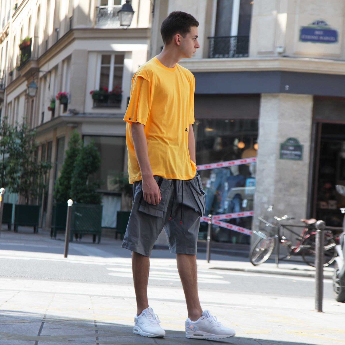 f76a7a7468 ... ACG Deploy Short > Nike Air Max 1-100 Available instore and online on  http://www.shinzo.paris #ShinzoParis #ShinzoLab #EtienneMarcel #Paris  #StreetStyle ...