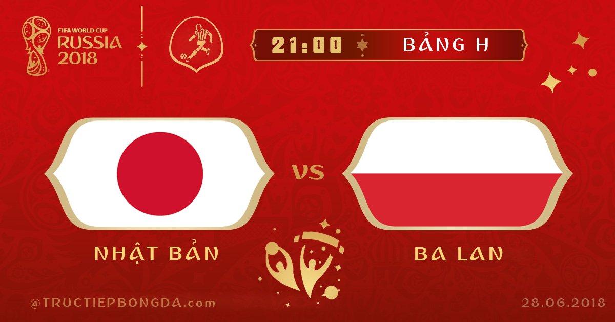 Nhật Bản vs Ba Lan
