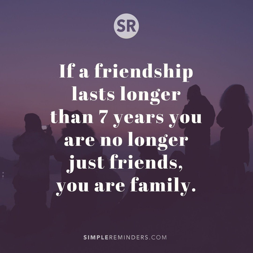 "Simple Reminders On Twitter: ""If A Friendship Last Longer"