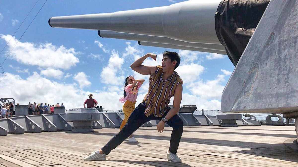 Guns out 💪🏻 #PearlHarbor
