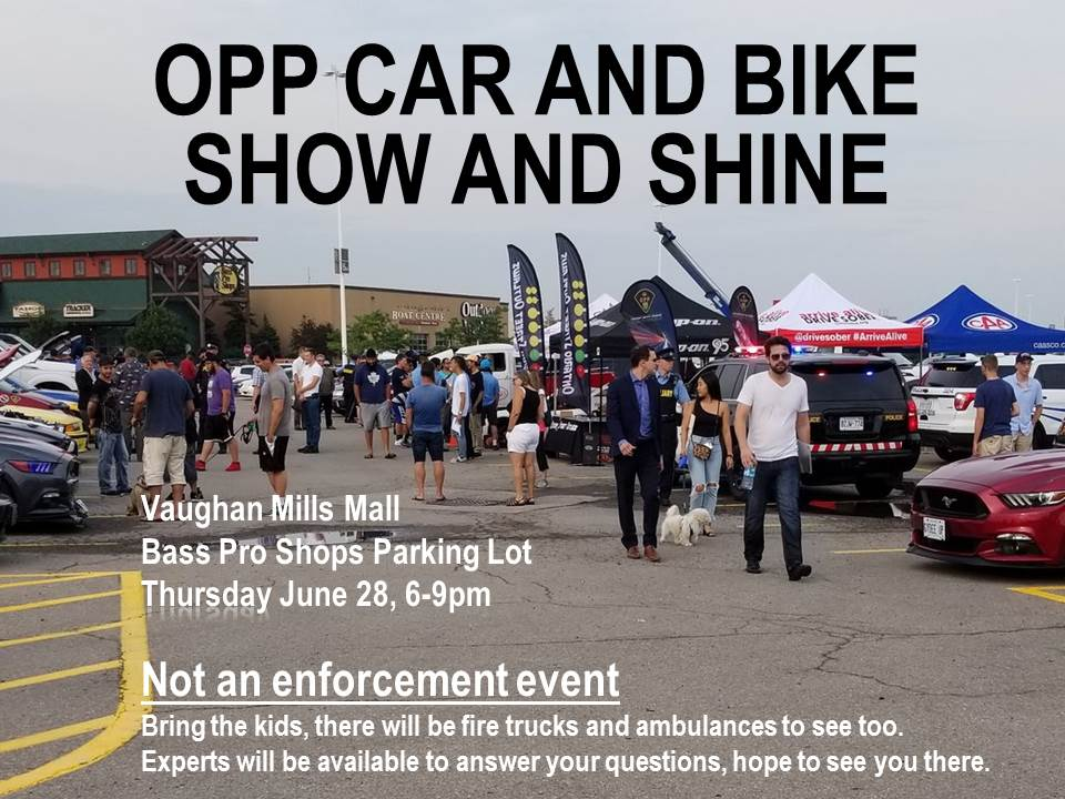 Sgt Kerry Schmidt On Twitter OPP Car And Bike Show And Shine - Bass pro car show