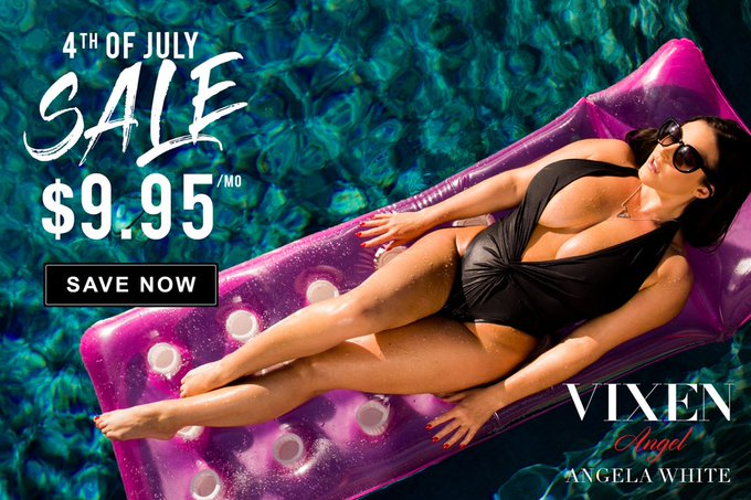 Check out @VIXEN's 4th of July sale! 💦 Watch my scenes for only $9.95 https://t.co/i7uYCHmfV8 https://t