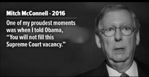 Image result for mitch mcconnell merrick garland