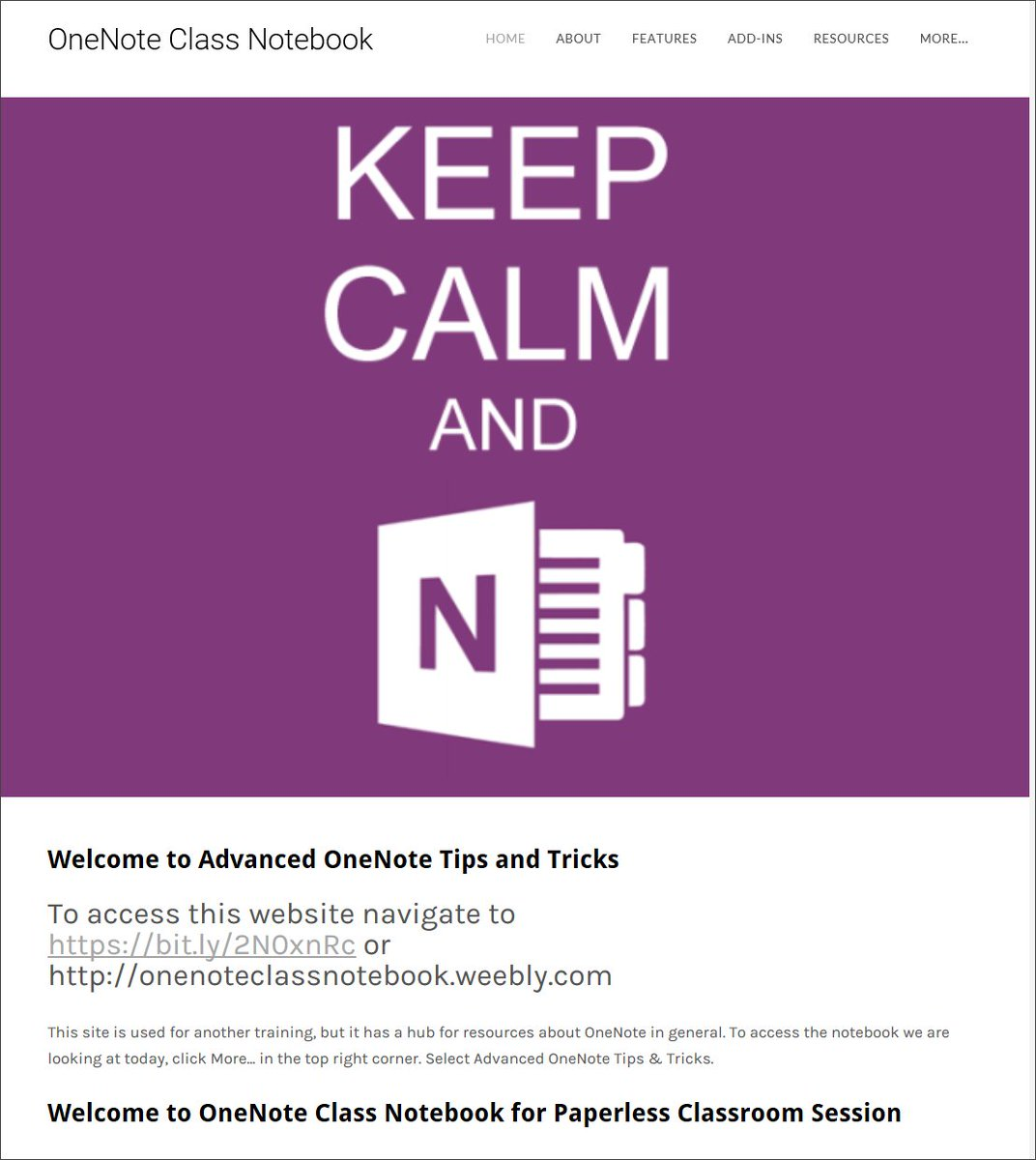 OneNote Central on Twitter: