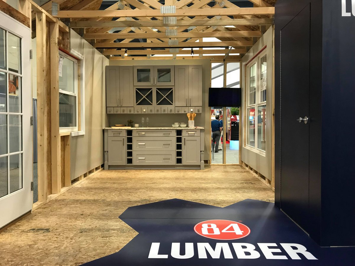 ... Tradeshow Representing The West Coast. Stop By Booth #1467 For Some  Giveaways And A Tour Of Our House Display! #84Lumber Pic.twitter.com/v0AR23aZne