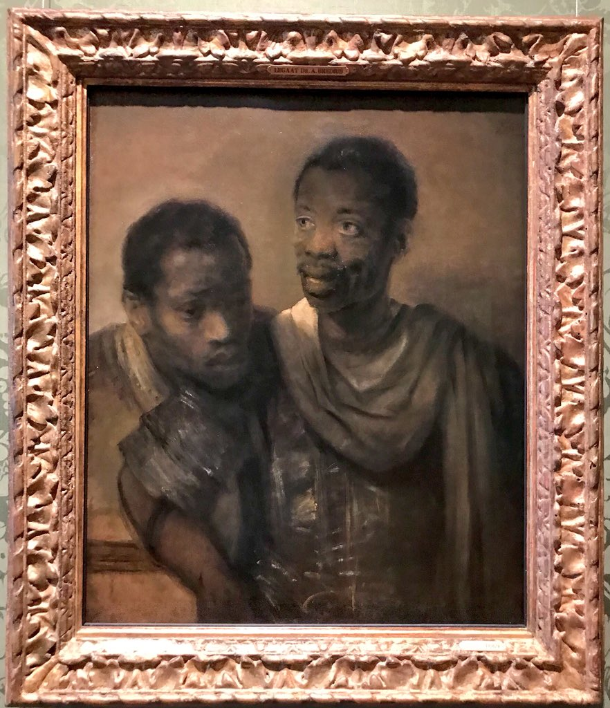 Rembrandt, Two African men