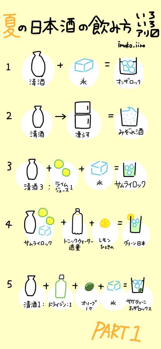 【夏酒だって美味しい】 日本酒を暑い日に飲むのはちょっと…という方もいらっしゃると思いますので、酒蔵勤務の私がオススメする、夏にぴったりの日本酒の飲み方をまとめました。日本酒を飲んで夏を乗り切ってほしいです。 #日本酒