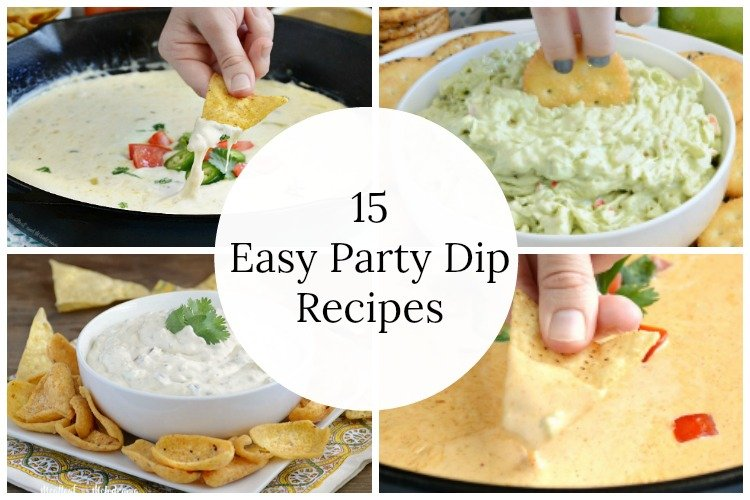 15 #easy #party dip #recipes to make for #summer! https://t.co/kQDCx2oCh2 https://t.co/FF1KqvWq8Q