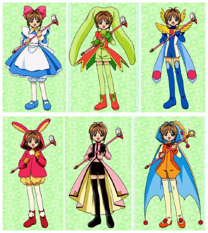 Yan On Twitter Sakura Card Captors E Um Desenho Sobre Uma Menina