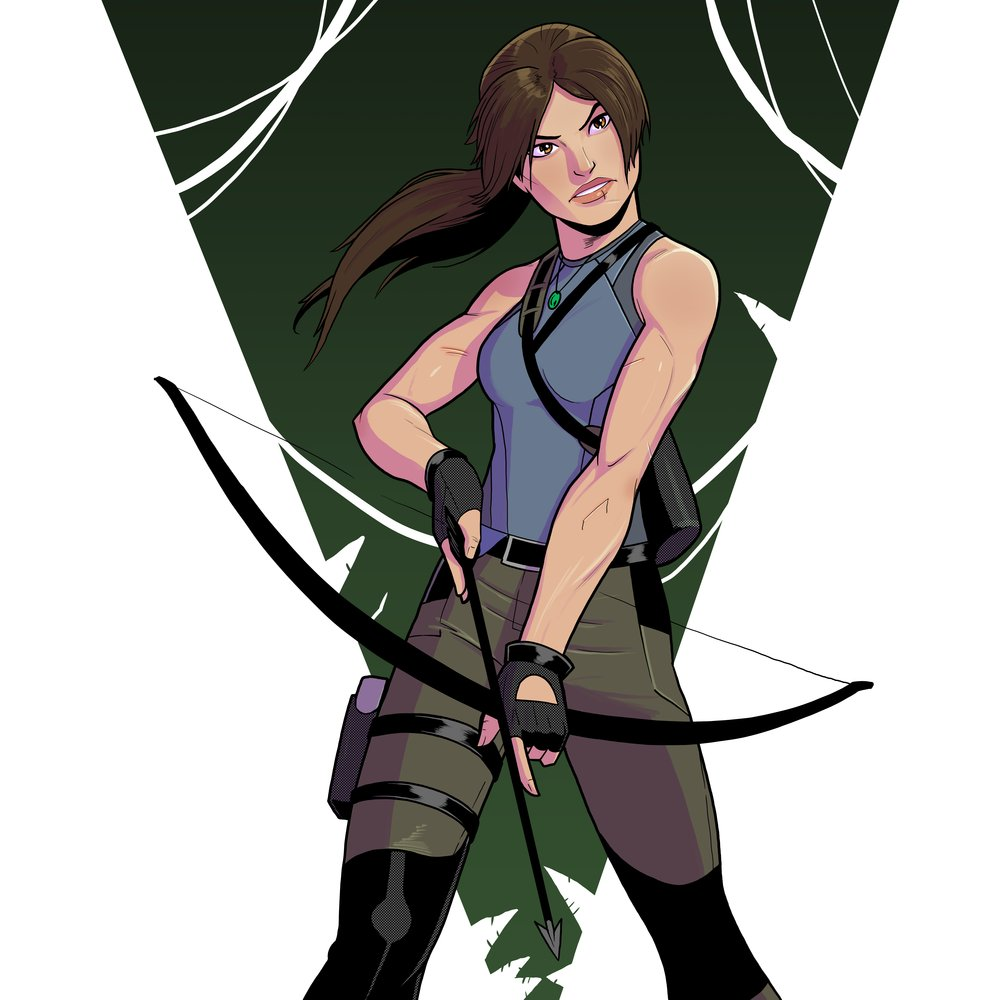 Tomb Raider #FanArtFriday by Cadhla182   �� - https://t.co/mIwQZx65eC https://t.co/snkkud14LF