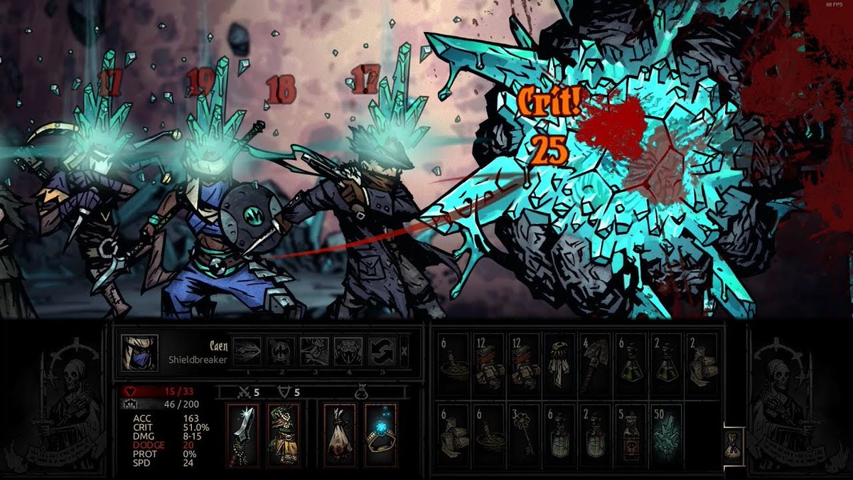 darkest dungeon the color of madness review