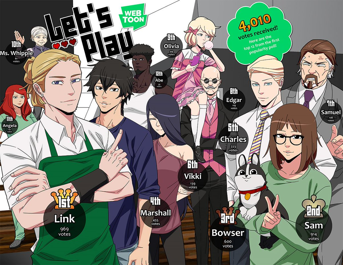 Image result for let's play webtoon