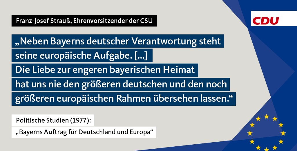 CDU Deutschlands on Twitter: \