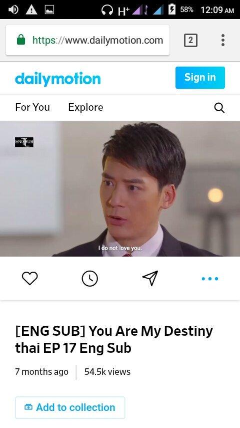 You Are My Destiny Thai Lakorn Eng Sub Dailymotion idea gallery