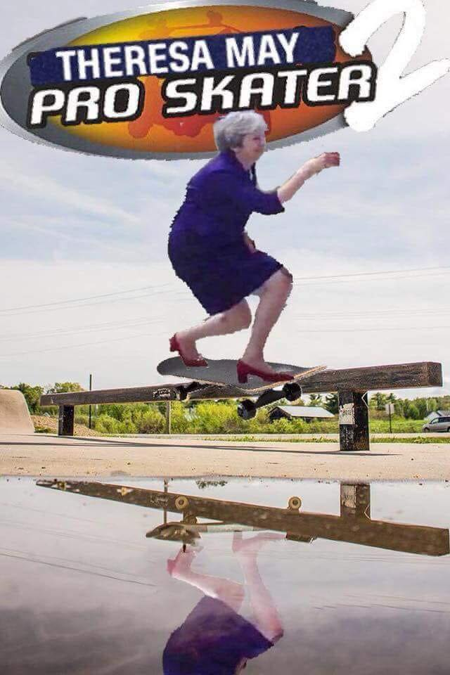Image result for theresa may curtsey memes