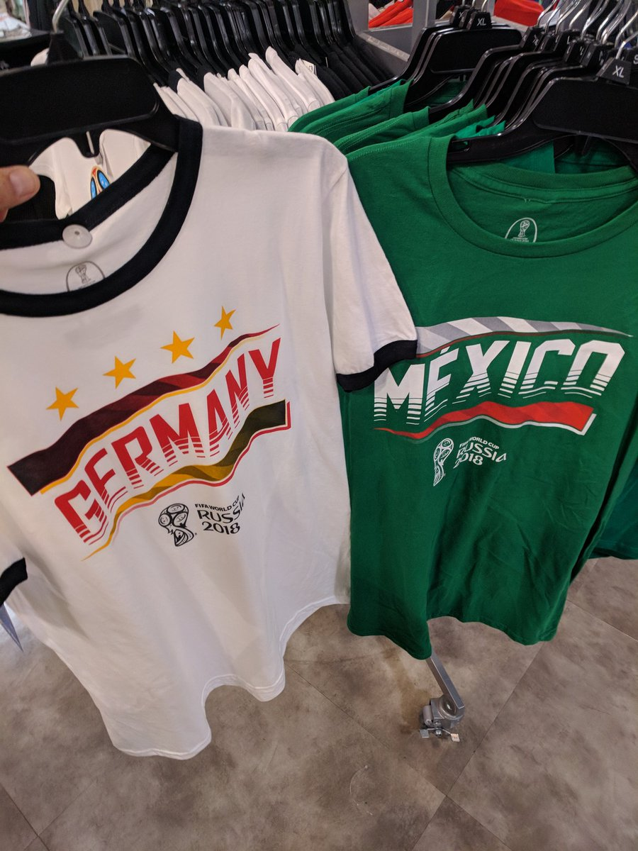 Mexico #Germany World Cup jerseys