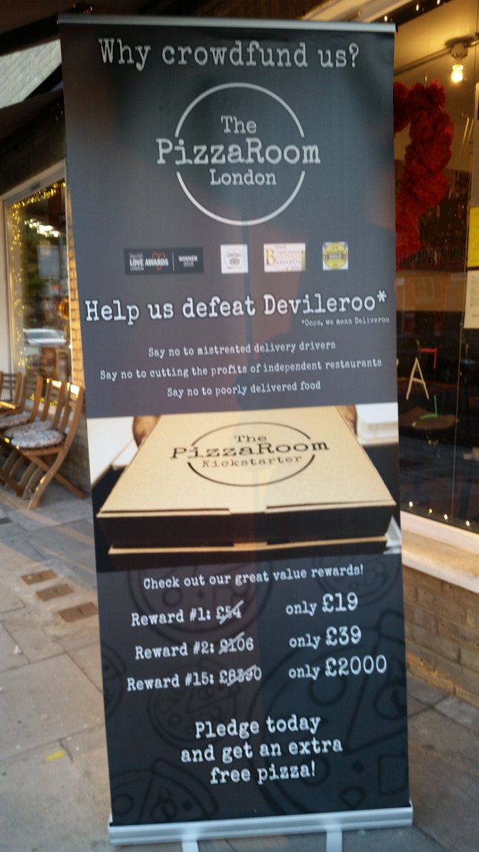 Whats On Se1 Se16 On Twitter Crowdfunding Fancy Pizza