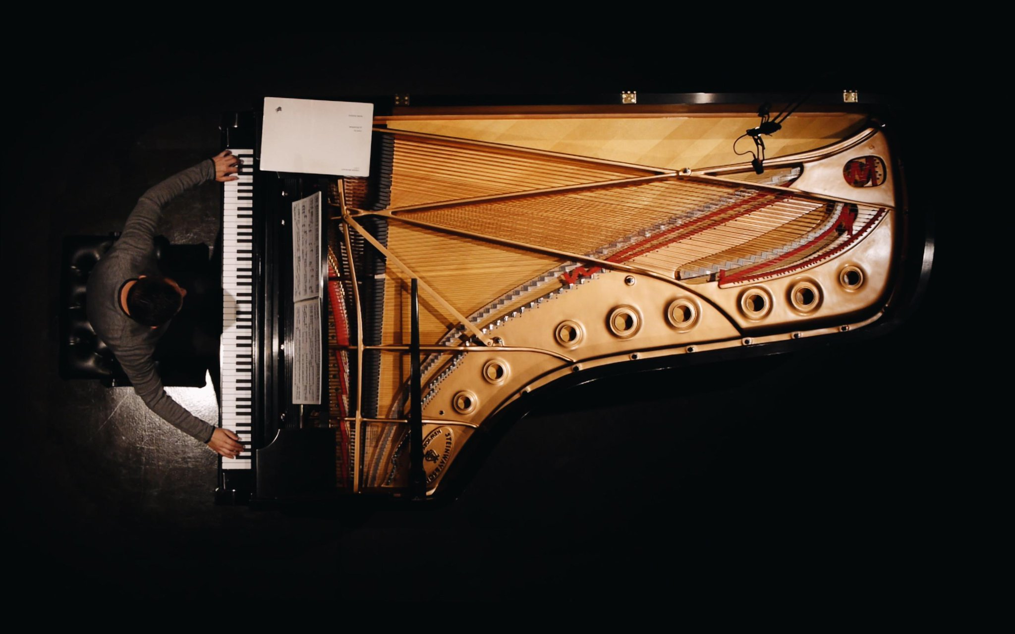 Reloaded twaddle – RT @SteinwayAndSons: Piano is unique in that way: it can be both percussive and...