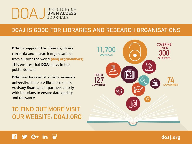 doaj directory of open access journals free