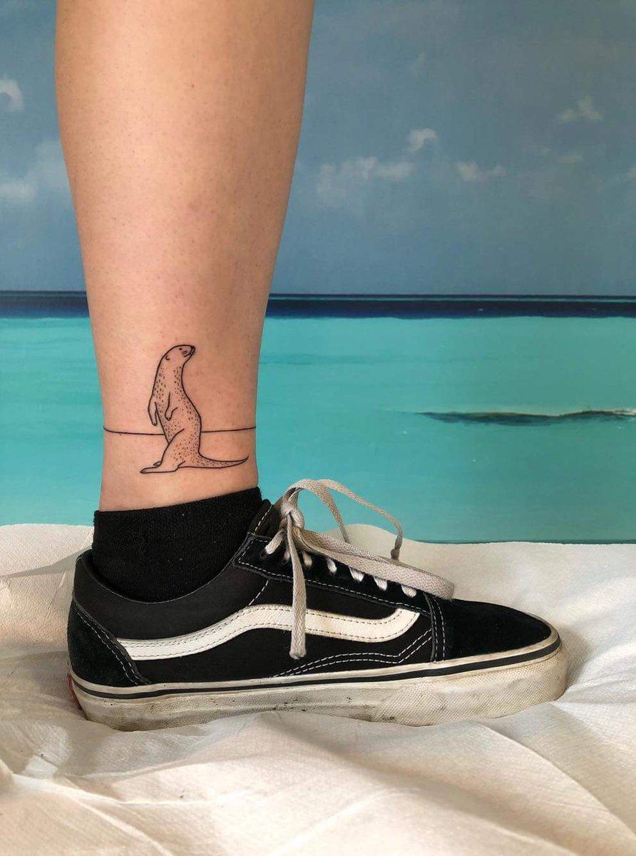Ola Exams On Twitter Say Hello To My Otter Tattoo
