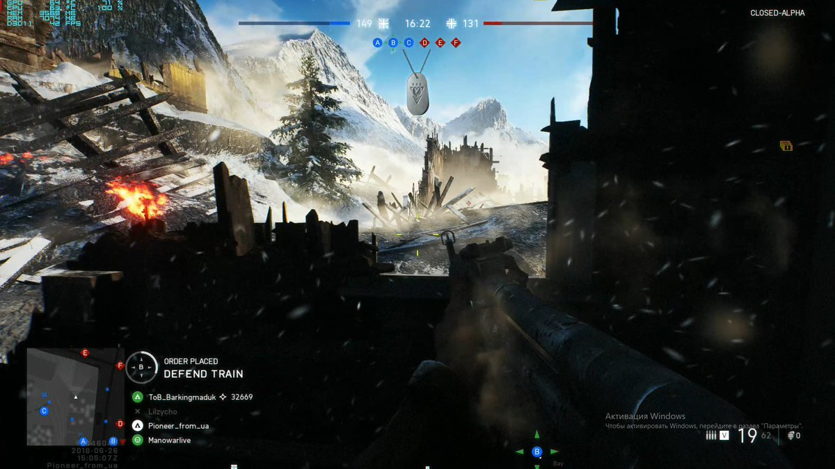 battlefield 5 closed alpha