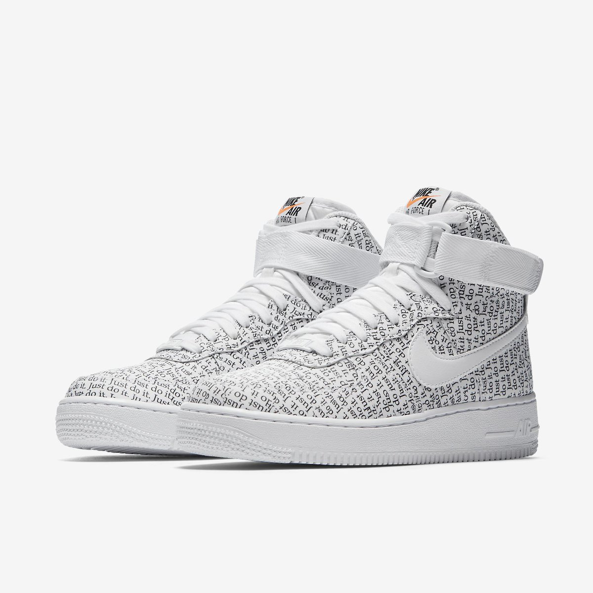 hot sale online 91075 68ba3 Nike Air Force 1 High LX Just Do It Pack White Womens AO5138-100 Live  Now!!! Shop From Nike http   bit.ly 2IwK9mI Offspring http   bit.ly 2IweZMc  ...