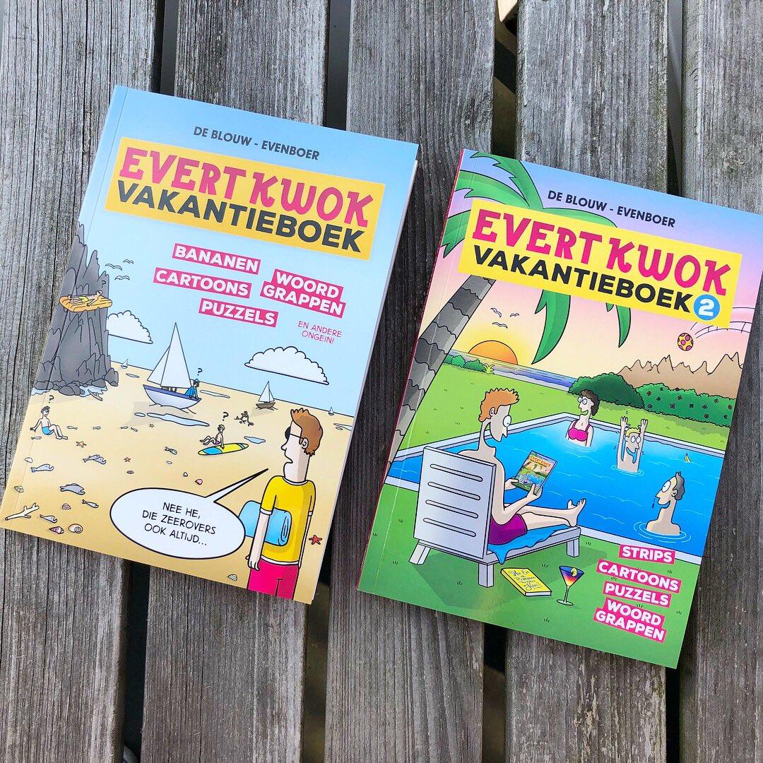 6801d045b40 De vakantieboeken zitten vol heerlijke cartoons met flauwe woordgrappen,  onzinnige puzzels, bananen en nog meer gekkigheid. #evertkwok #cartoons # vakantie ...