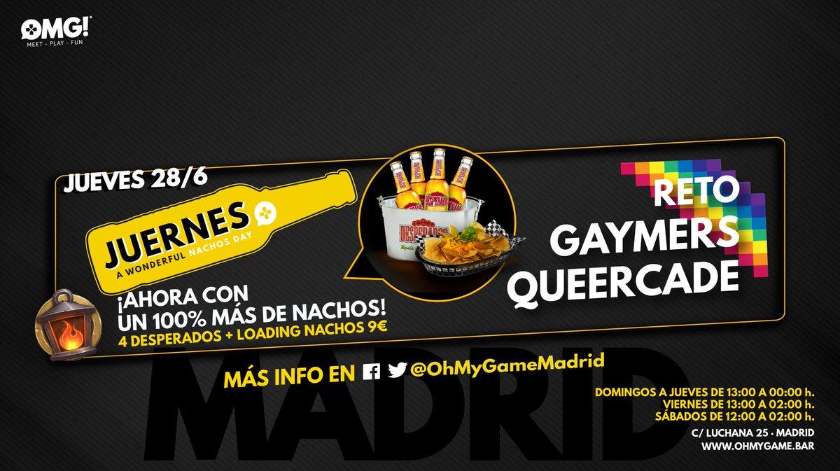 Oh My Game! Madrid على تويتر: