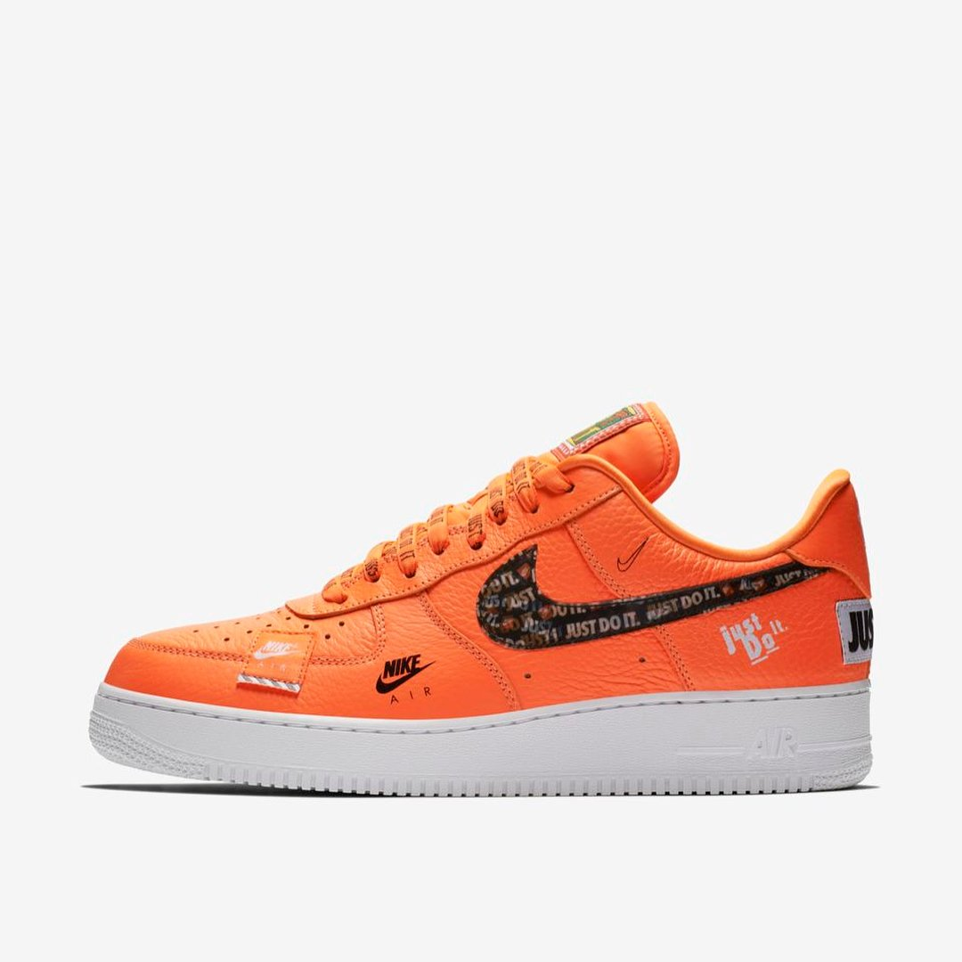 "meet 1ba68 7128e Show some real love for the  Nike  AirForce1 ""Just Do It"" Collection. Now  available online   in selected stores  approved http   bit.ly 2tBDaEp ..."