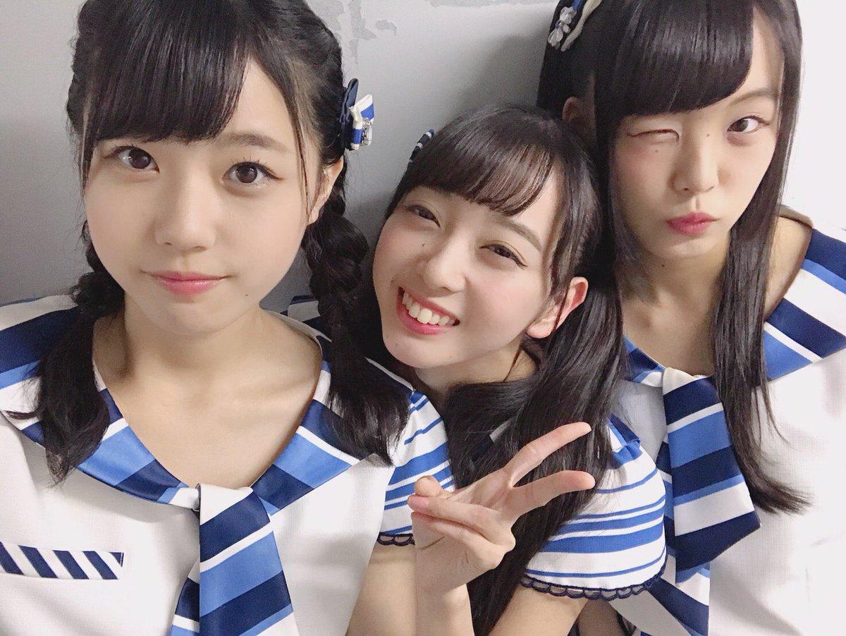 "STU48: STU48 On Twitter: ""石田みなみが考案! 3人のユニット名は… #にゃーぽっぽ だそうです🐱"