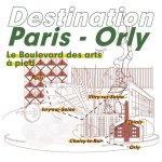 Image for the Tweet beginning: Destination Paris-Orly >> le boulevard