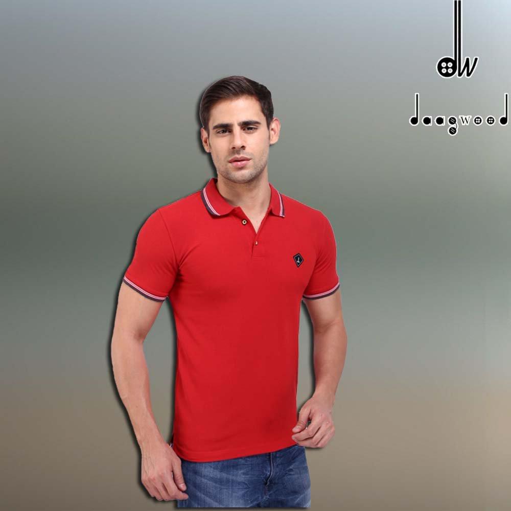 9d405f0d9 http://daagwood.com/product/daagwood-solid-mens-polo-neck-red-t-shirt/ … # Daagwood #clothing #menswear #mensclothing #tees #tshirts #shirts  #fullsleeves ...