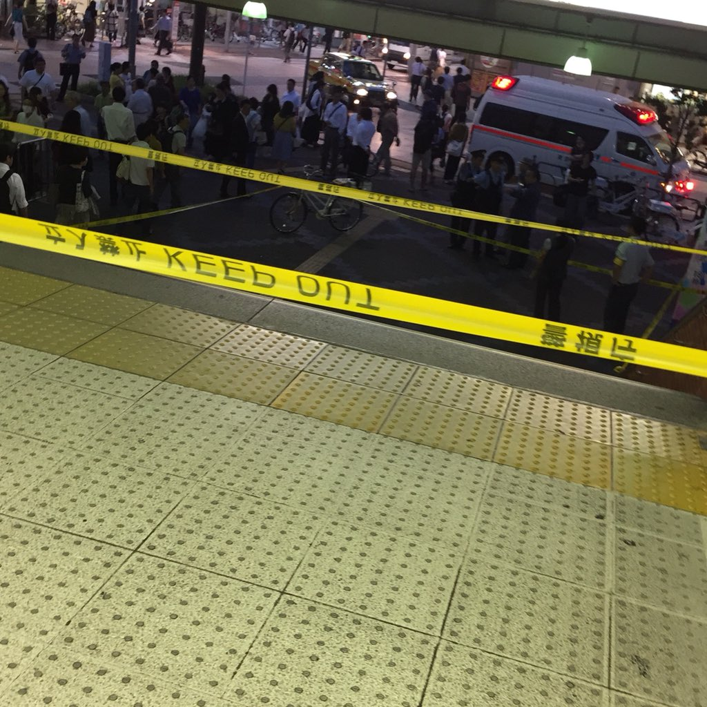 小岩駅の通り魔の可能性もある事件現場の写真画像