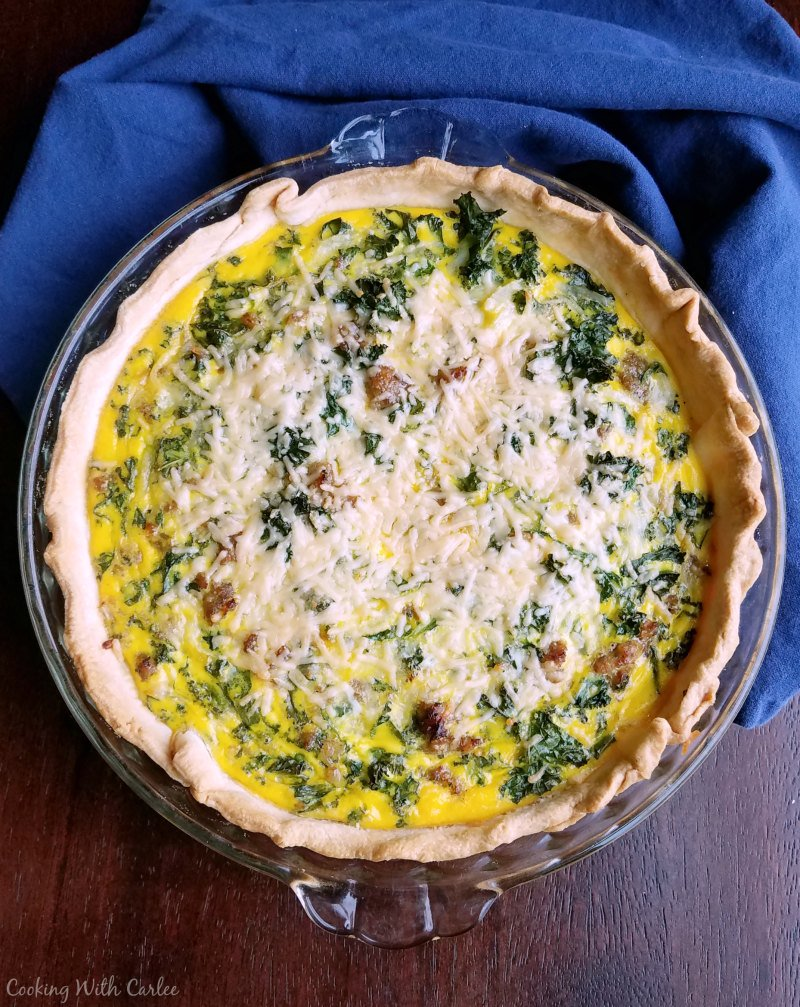 Kale and sausage make a delicious quiche! https://t.co/mYfciLV7V8 #RecipeOfTheDay #kale #Breakfast https://t.co/azOAVJH6Wg