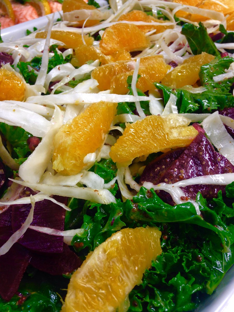 @Esca Kale and Beetroot Salad with a honey and mustard dressing #lunch #salads #clapham https://t.co/yjjmvEsQXR