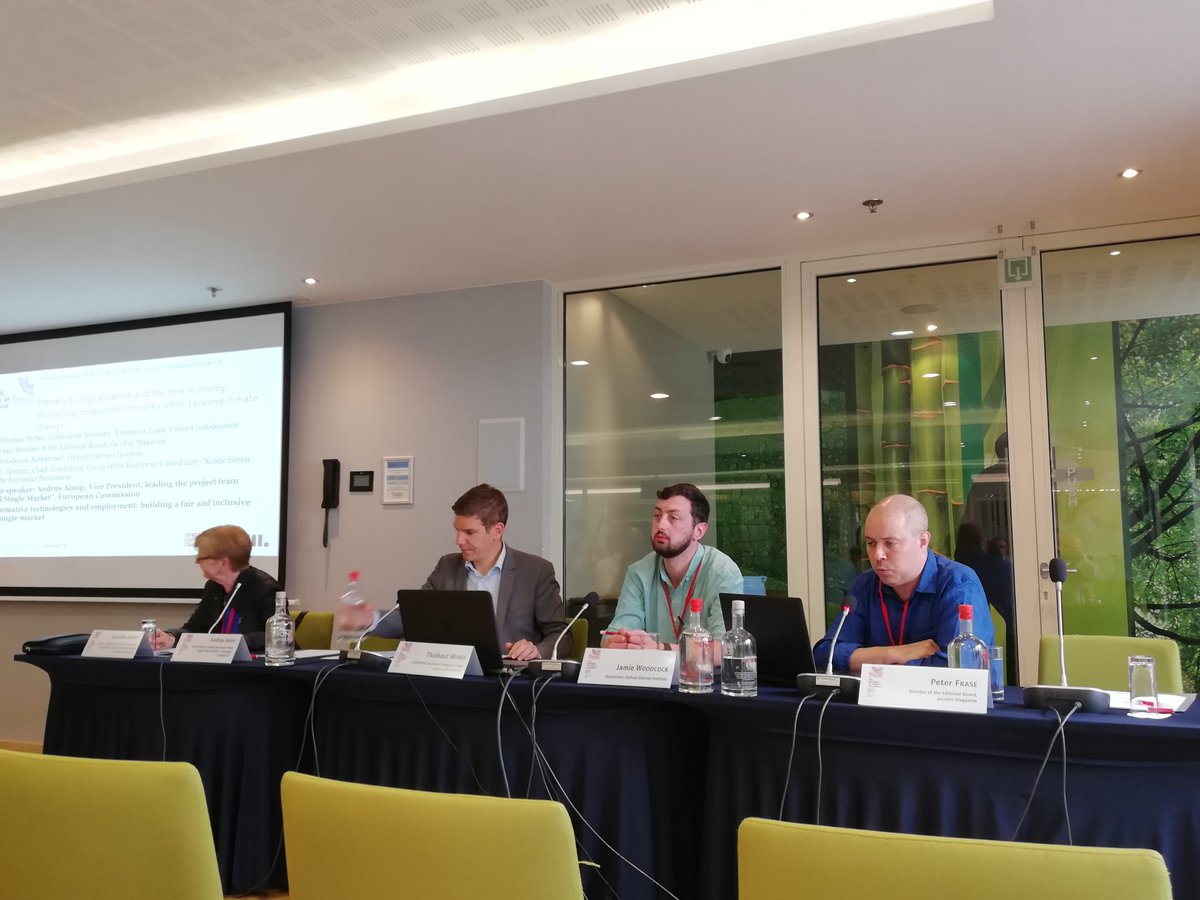 European Trade Union On Twitter Etuwow18 Peter Frase At Jacobinmag