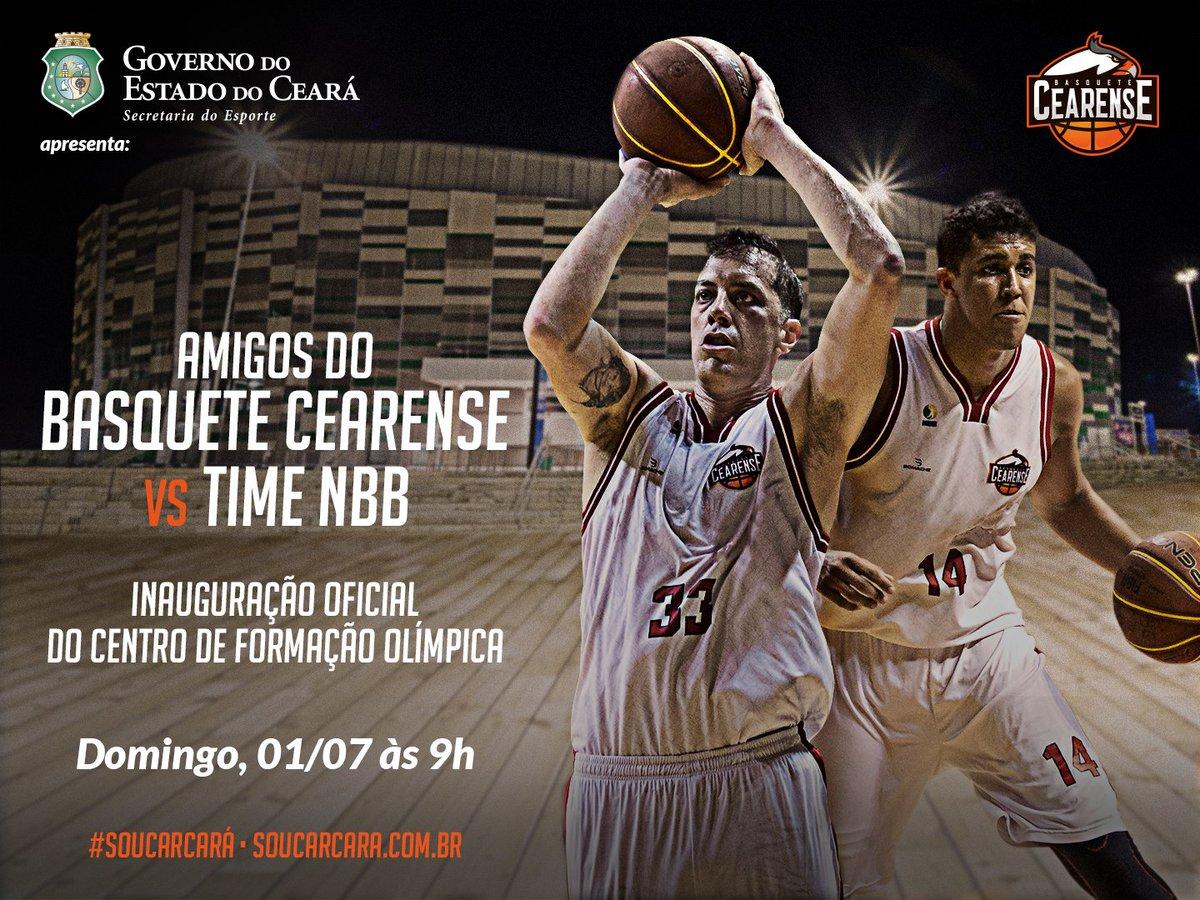 bda9bc7fb A Arena CFO será palco do jogo exibição  Amigos do Basquete Cearense vs  Time NBB.pic.twitter.com W5VtG5usJf
