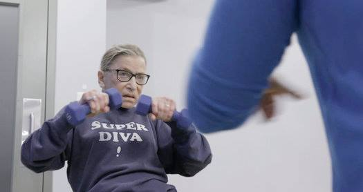 Don't ever stop, RBG